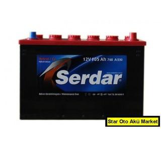 Serdar Akü Fiyatları - 125 Amper Serdar Akü - 128 ah