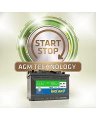 92 Amper İnci Akü - Start Stop AGM